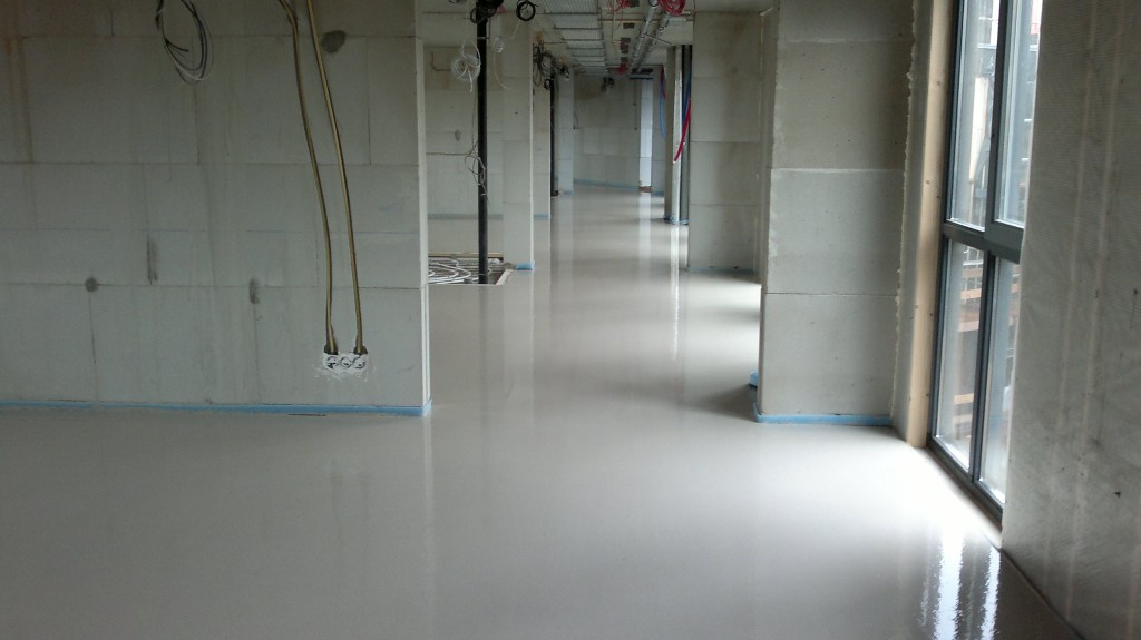 Gietdekvloeren vloerenbedrijf van rijbroek bv